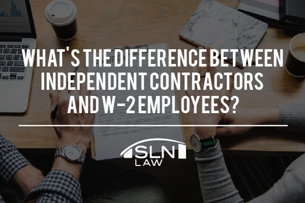 Independent Contractor vs W2 Employee