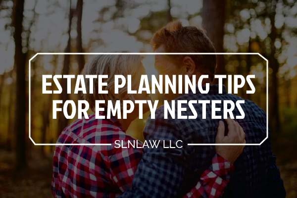 Estate planning tips for empty nesters